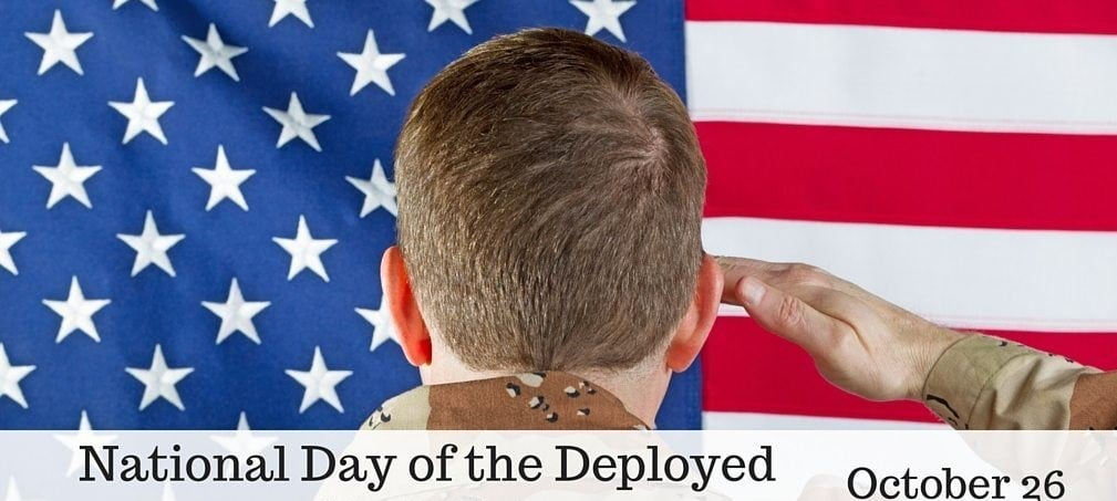 National Day of the Deployed Wishes Lovely Pics