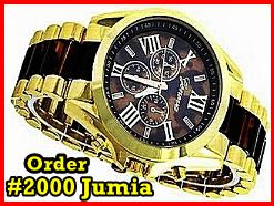 Geneva Full Steel Unisex Wrist Watch