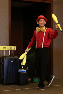 Party Entertainer Juggling Show Singapore