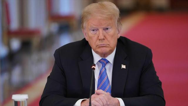 Informe revela: Trump podría abandonar la carrera electoral 2020
