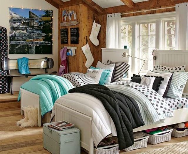 Dormitorio Juvenil Con Dos Camas. Free De Nuevo En Esta Foto De ...