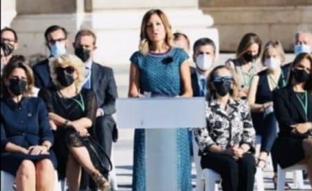 Emotivo discurso de Aroa López, profesional sanitaria, en el homenaje de Estado por las víctimas de la COVID19