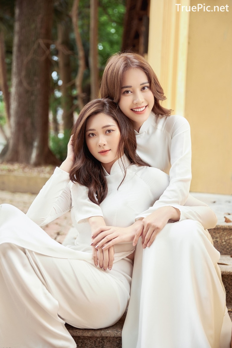 Image Vietnamese Model - Vietnamese Student Dresses (Ao Dai) - TruePic.net - Picture-3