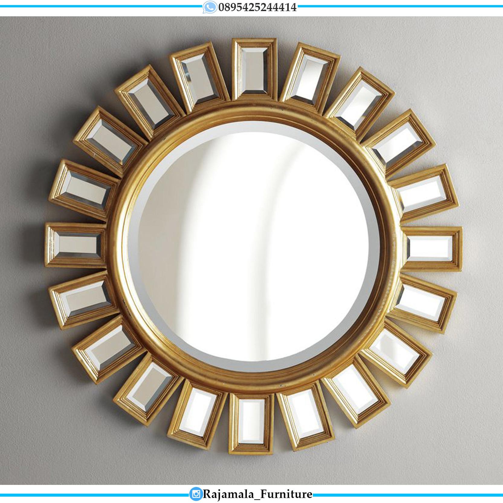 Best Sale Cermin Hias Minimalis Mewah Jepara Luxury Design RM-0115