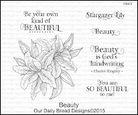 Our Daily Bread designs Beauty