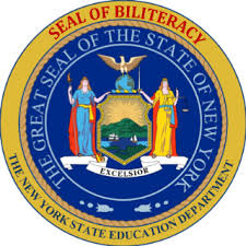 Image result for seal of biliteracy on diploma new york state