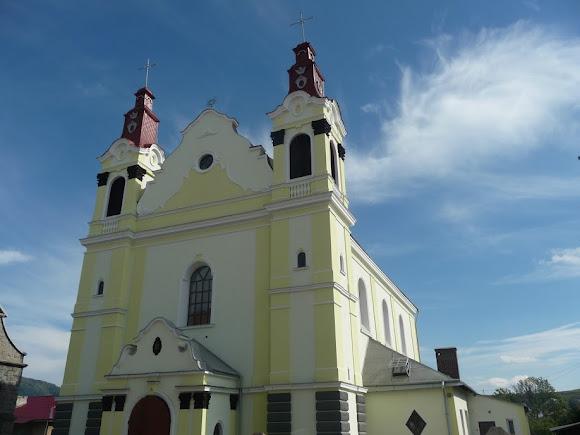 Турка. Костел Успіння Пресвятої Діви Марії (1779 р)