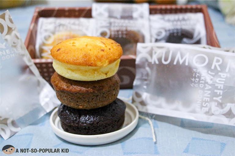 Kumori's Puffy O Japanese Baked Donuts