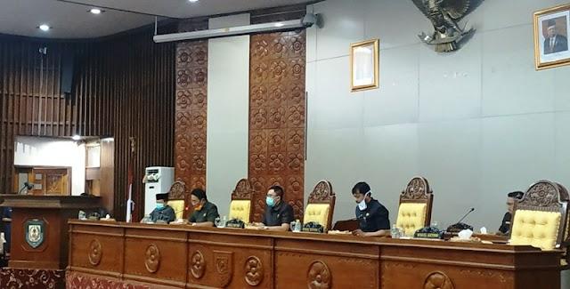 8 Fraksi DPRD Provinsi Setujui LKPj Ta 2019