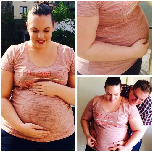 20 weken zwanger buik