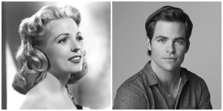 A Vintage Nerd Old Hollywood Grandchildren Chris Pine