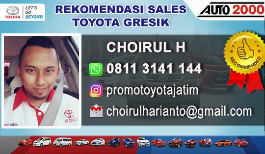 Rekomendasi Sales Toyota Manyar Gresik