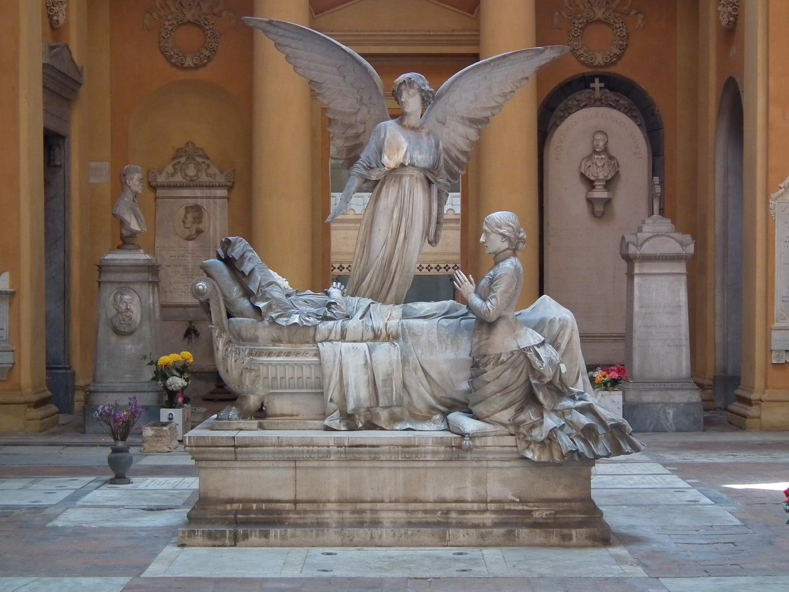 Certosa Monumental Cemetery (Bologna, Italy)