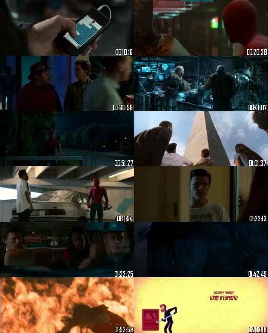 Spider-Man Homecoming 2017 BRRip 720p 480p Dual Audio Hindi English Full Movie Download
