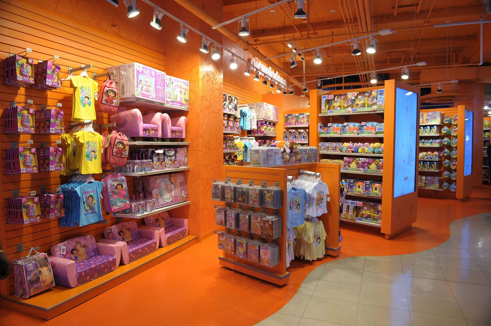 Nickalive Nickelodeon Opens First Ever Branded Retail