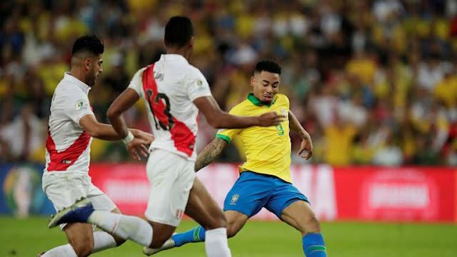 Brazil second goal