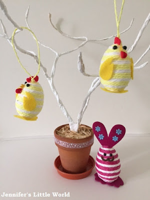 How to make a simple Easter tree with wire
