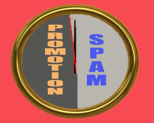 Promosi dan Spam, Itu Beda Tipis