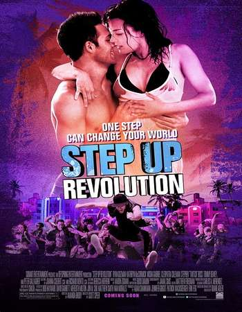Step Up Revolution 2012 Hindi Dual Audio 450MB BluRay 720p ESubs HEVC