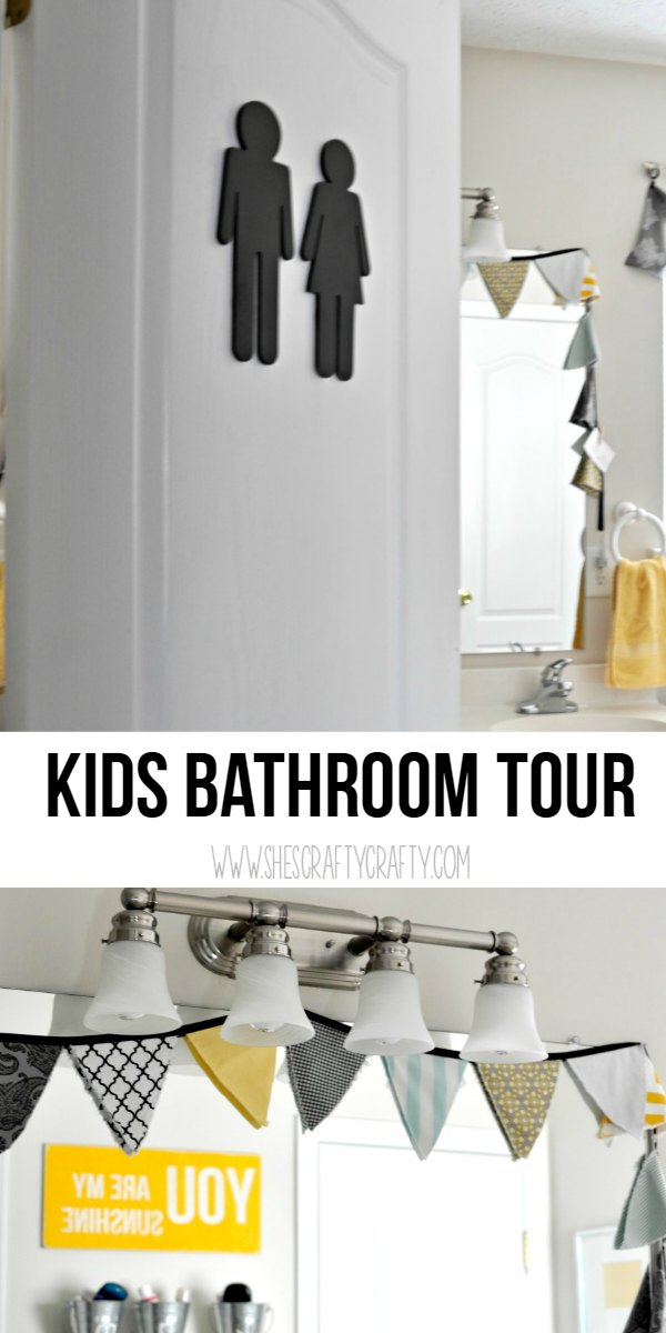 bathroom door icons, bathroom for children, kids bathroom, bright and colorful bathroom