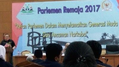 Siswa Madrasah Peserta Parlemen Remaja Tahun 2017
