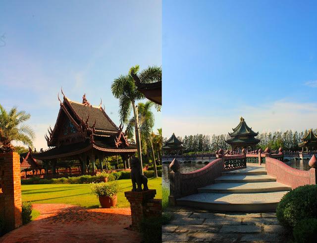 ancient siam musem bangkok thailand