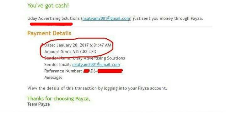 mypayingads bangla tutorial payment proof