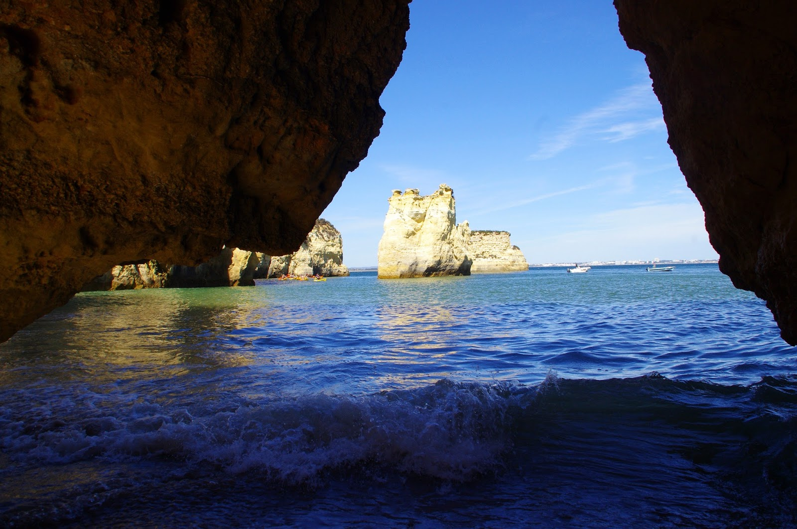 Lagos Caves Algarve
