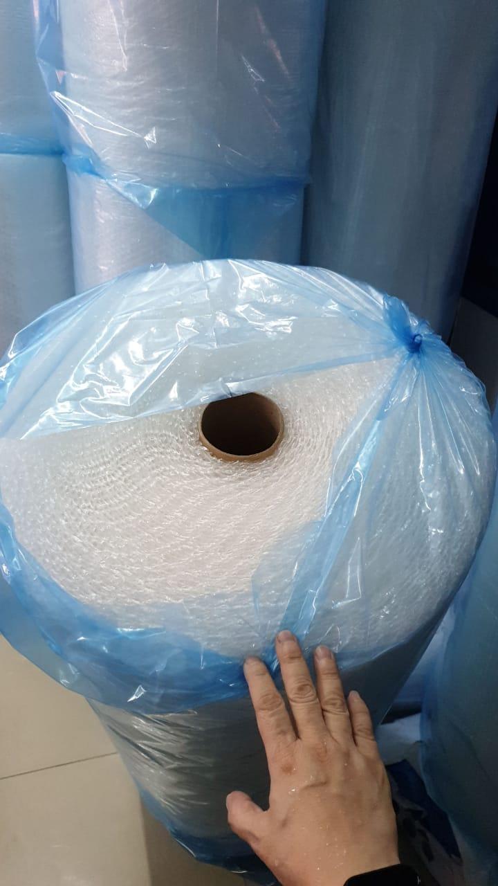 jual plastik rol gulungan bubble wrap buble gelembung udara kemasan pembungkus pelindung