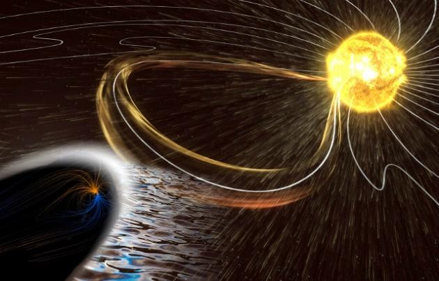 Τρομακτικοί εξωγήινοι ήχοι καταγράφηκαν στο μαγνητικό πεδίο της Γης   Βίντεο