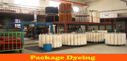 Package Dyeing