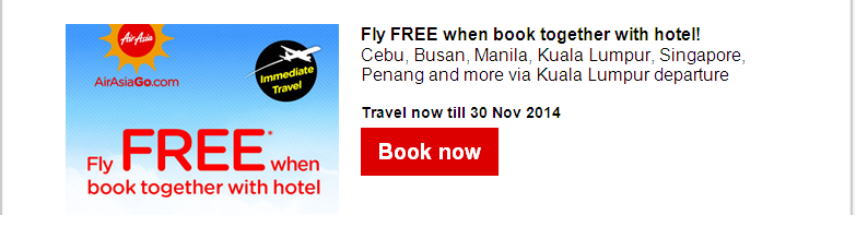Air Asia: Fly-Thru with Low fares from PHP399!
