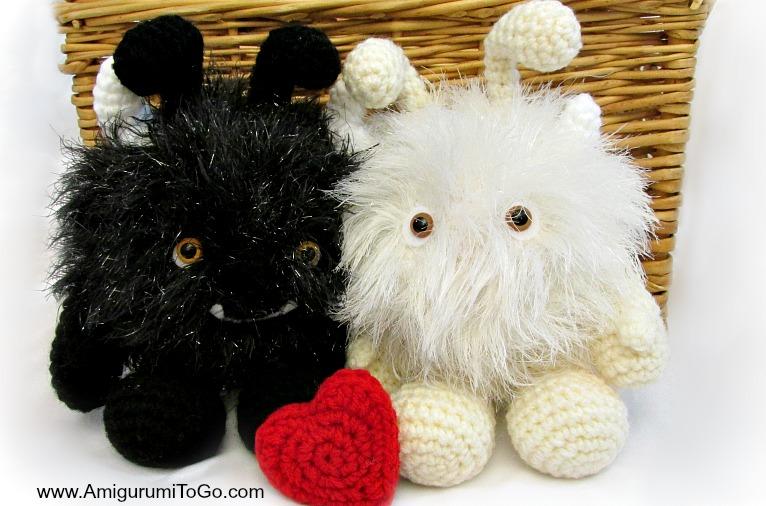 Amigurumi Monster Pattern Free Crochet : Monster love bugs amigurumi to go