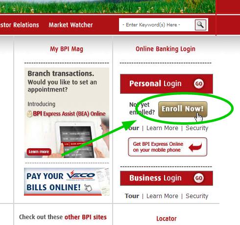 bpi online enrollment