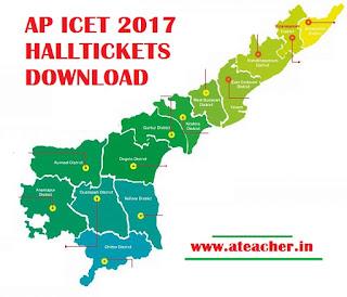 AP ICET 2017 HALLTICKETS