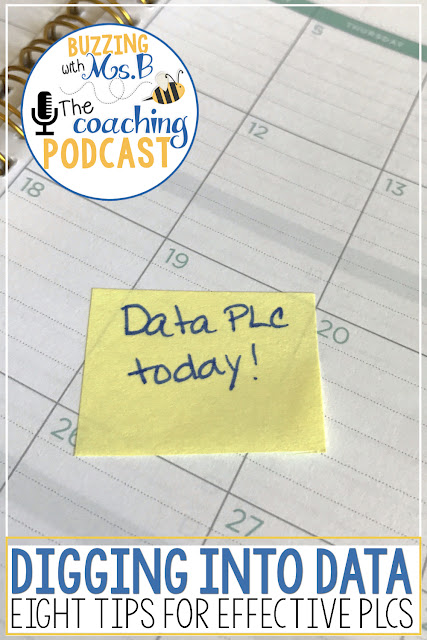 Data, data, data. Are all instructional coaches sick of talking about data yet? Sometimes we spend so much time working with the numbers that we don't get to the point of a data meeting: creating the plans. In episode 8, Eight Tips for Digging into Data, I share the most essential ideas for getting the most out of your next data meeting. Facilitate a data dig with your teachers that actually results in improved teaching and learning, and makes a difference to those students who need it most. Learn how to make plans that reflect the needs of the whole class as well as those of the individual students who need small group instruction. Make your next data review purposeful and impactful!
