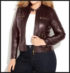 Gambar Model Jaket Kulit Wanita Big Size