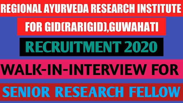 REGIONAL AYURVEDA RESEARCH INSTITUTE FOR GID