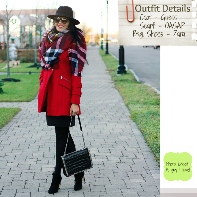 02b12ee6f70e8 Style-Delights  Lookbook   Red Military Coat