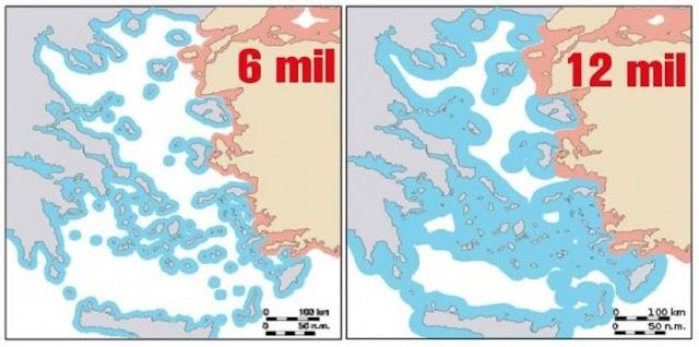Το Αιγαίο των 12 ν.μ. η «ελληνική λίμνη»