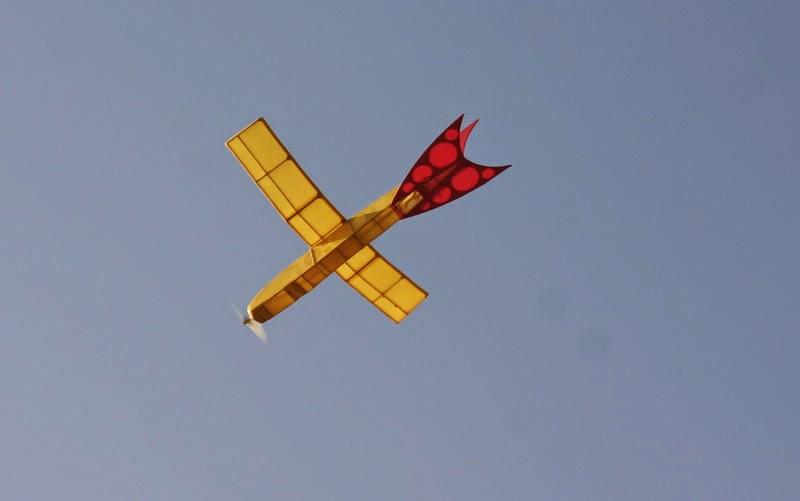 Scienceguyorg Ramblings: Sky Rocket Rubber Powered Free Flight