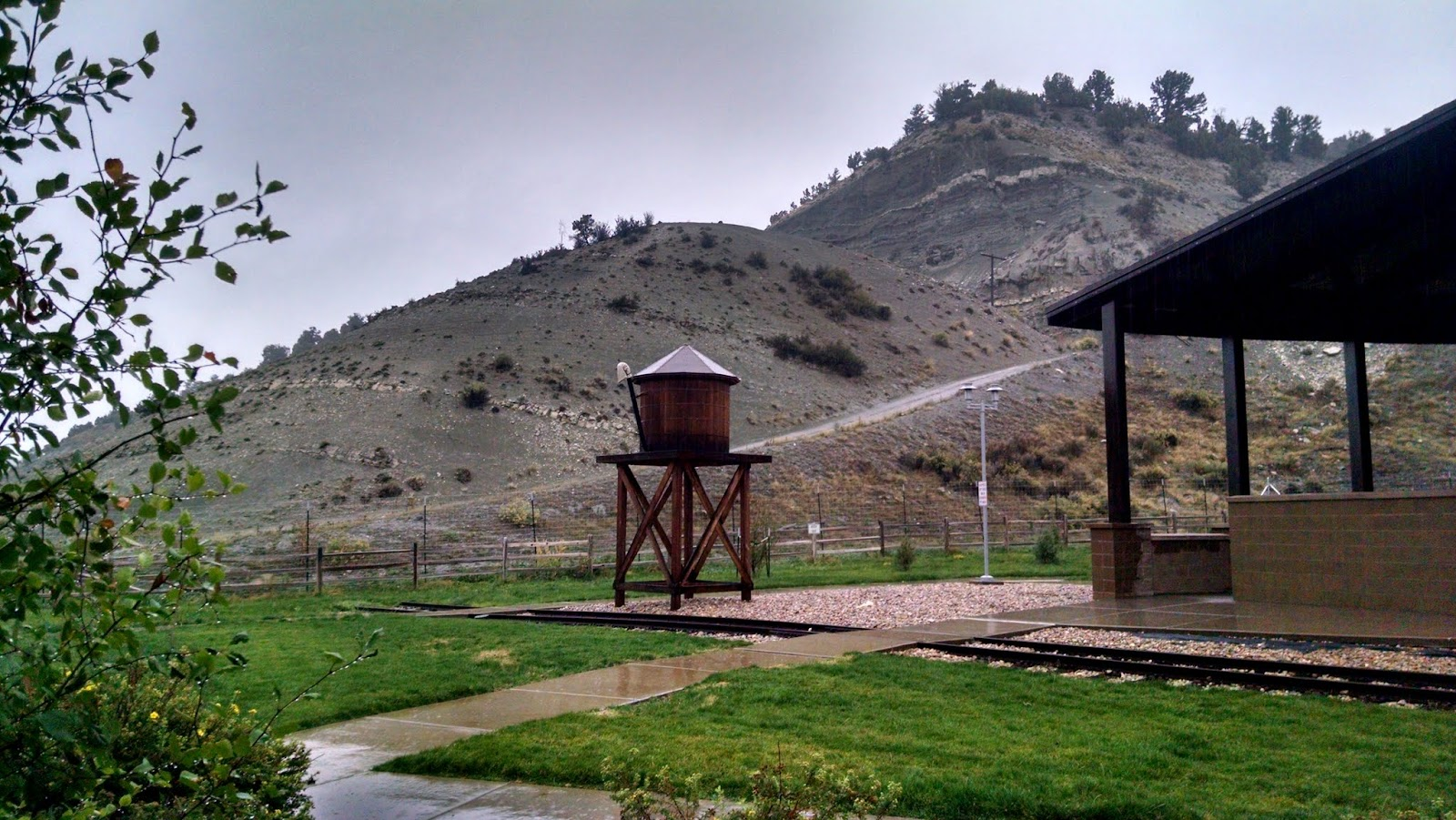 Зона отдыха Тай Форк, Юта (Tie Fork rest area, UT)