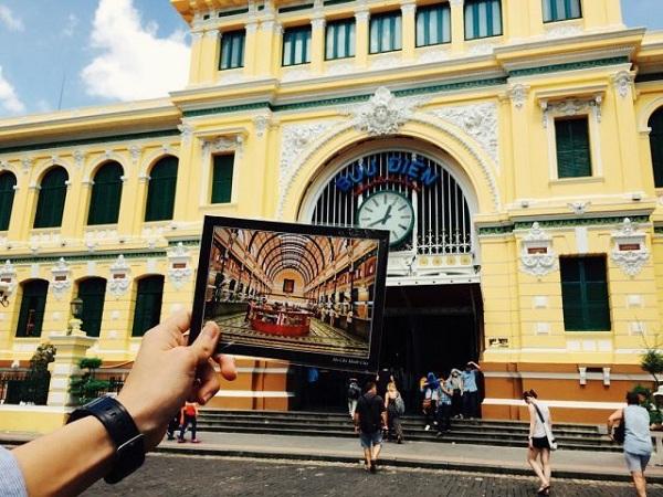 Bưu Điện Thành phố - Điểm tham quan hút khách của Sài Gòn