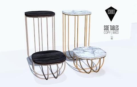 [ ISHIKU GROUP GIFT ] Side Tables