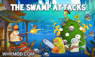 Game Swamp Attack Mod unlimited Money/Energy