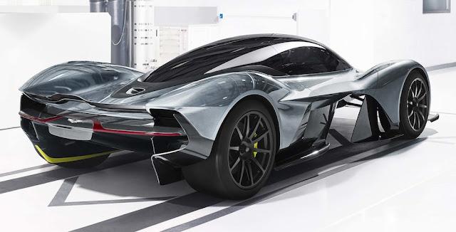 正式名称は「ヴァルキリー」に決定!アストンマーティン&レッドブル共同開発のハイパーカー。
