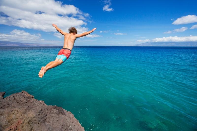 Denize atlarken riskli hareketlerden kaçının!