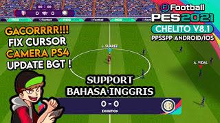 Download eFootball PES 2021 PPSSPP Chelito v8.1