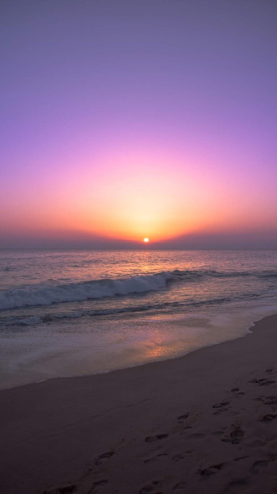 Twilight sunset