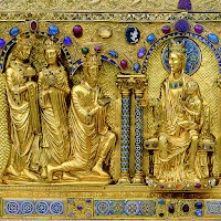 The Shrine of the Three Kings in Cologne Cathedral